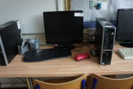 Stone Windows Vista PC with Hanns G H191 monitor
