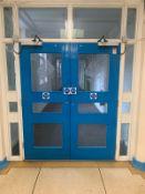 Double Fire Doors with Windows
