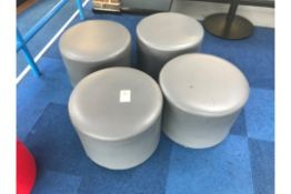 Soft Seating Stools 4 Grey