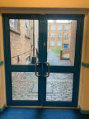 External Glass Fire Door