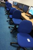 9 x gas lift chairs