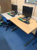 x2 Computer Desks