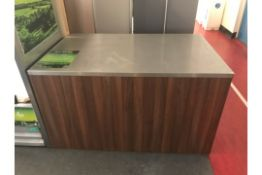 Catering Station With Steel Top