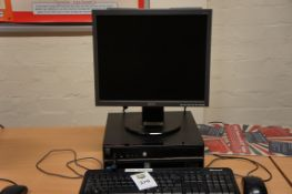 Stone i3 PC with Acer a173 monitor