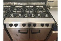 Falcoln Dominator 6 Burner Gas Oven