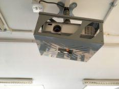 NEC projector + whiteboard
