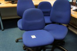 4 x gas lift chairs