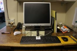 Acer Veriton PC with HNC AG191D monitor