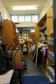 The contents of the store room, as lotted
