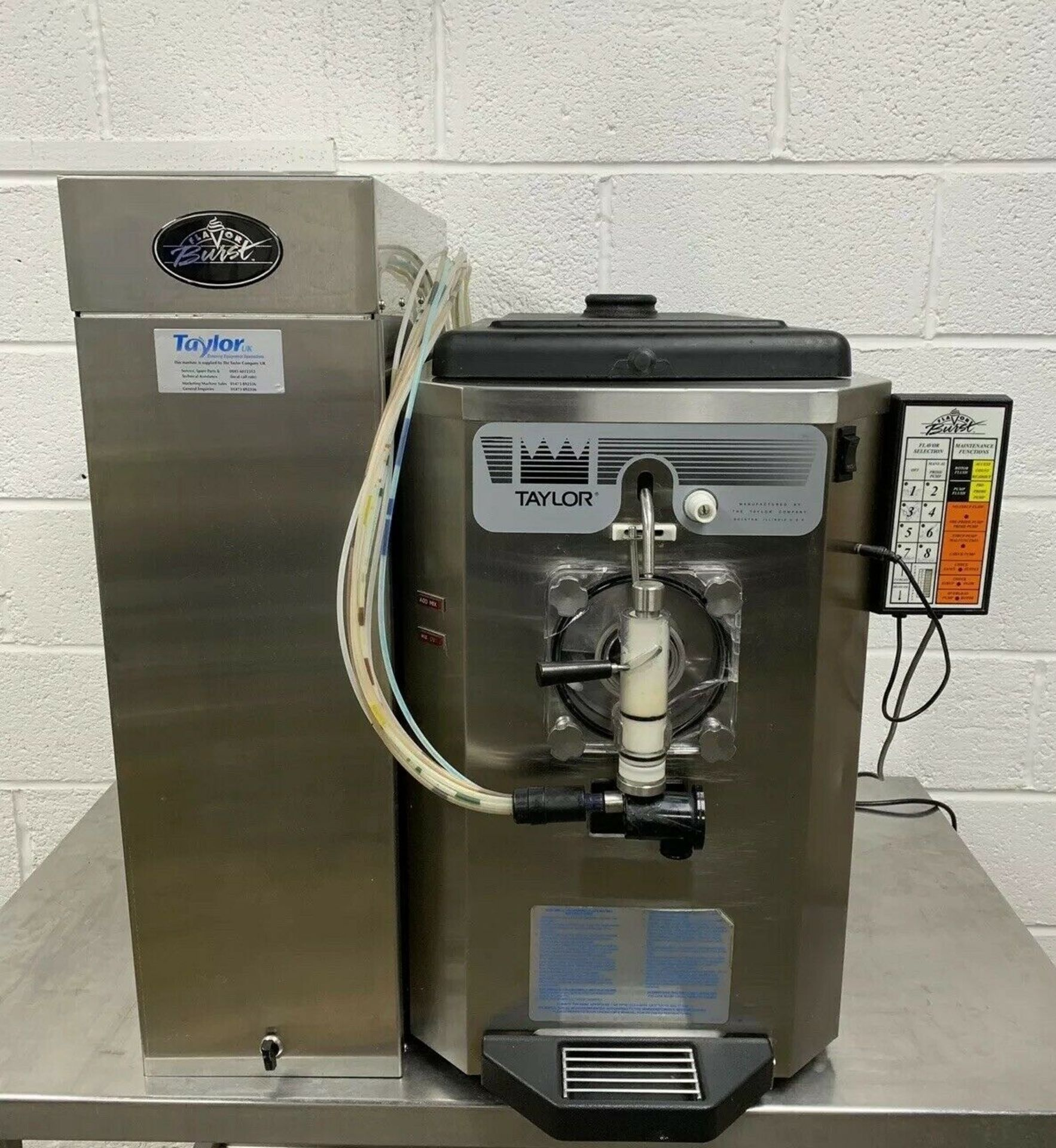 Lot 38 - Taylor 430 Frozen Drinks Machine With 8 Flavour Burst