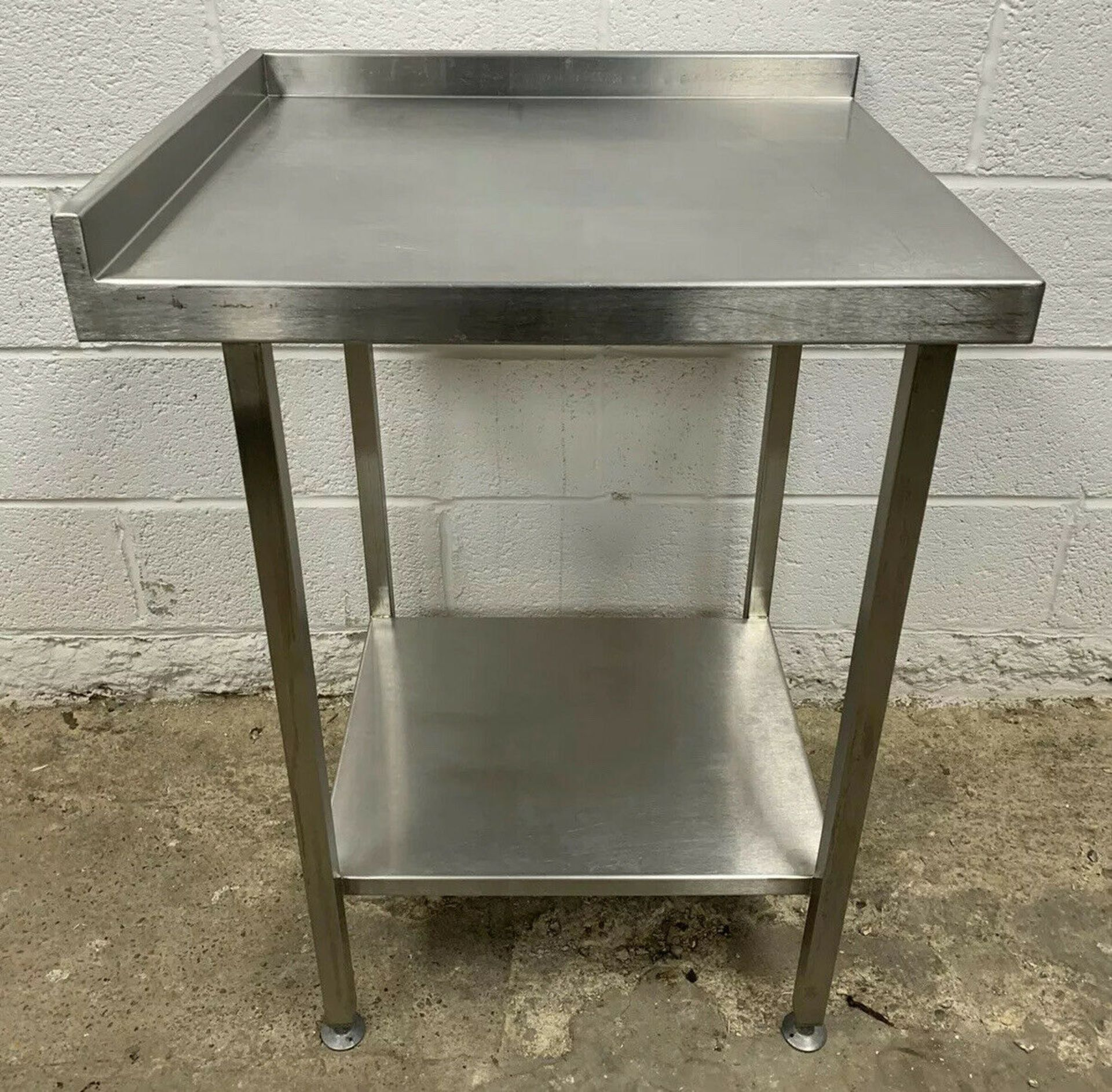 Lot 35 - Stainless Steel Prep Table