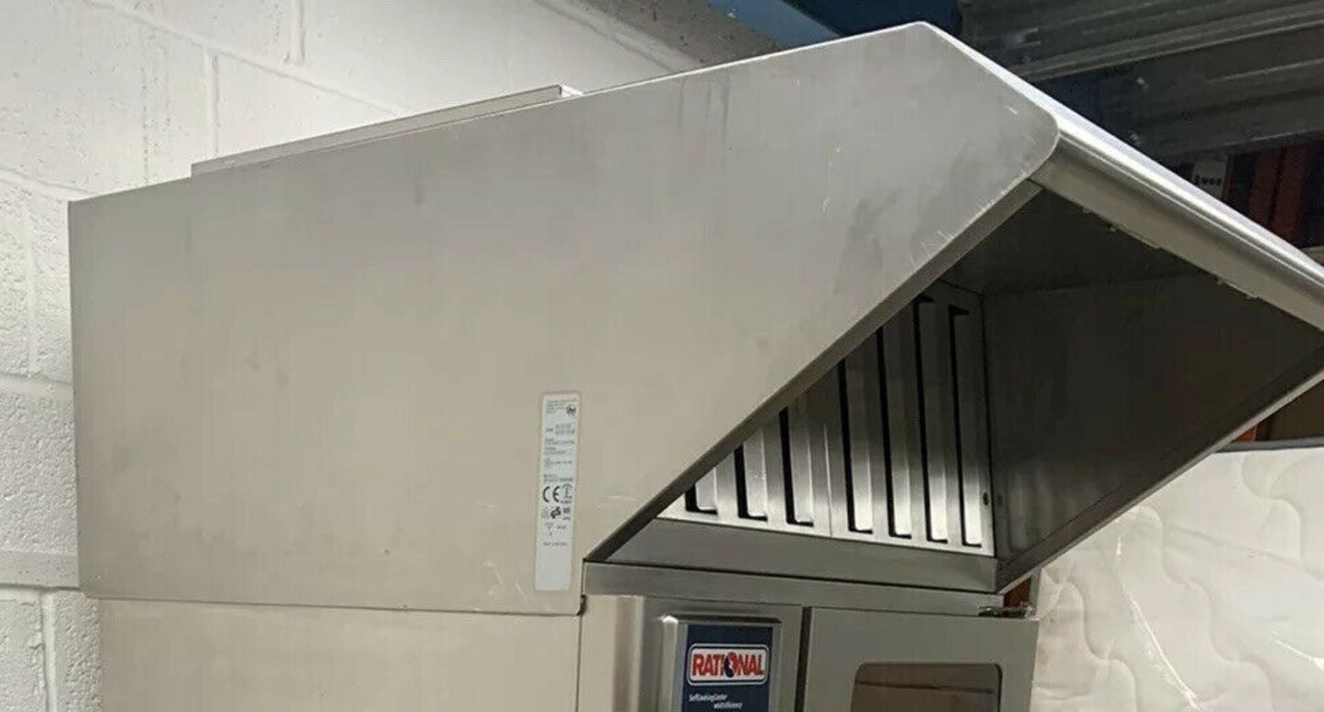 Lot 21 - Rational SCC 61/101 White Efficiency Ultravent Extractor Hood