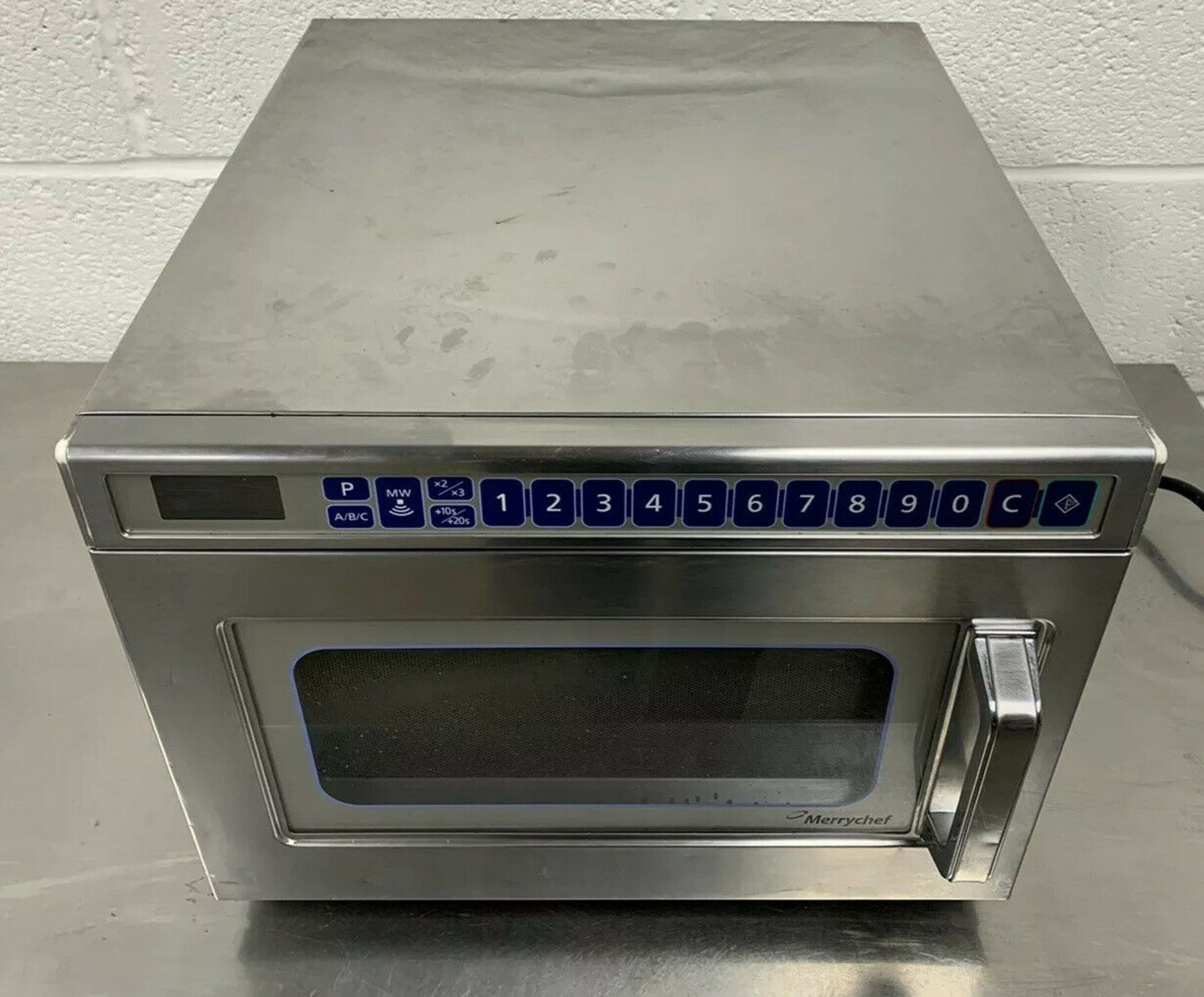Lot 26 - Merrychef MD1800 Microwave Oven 2017