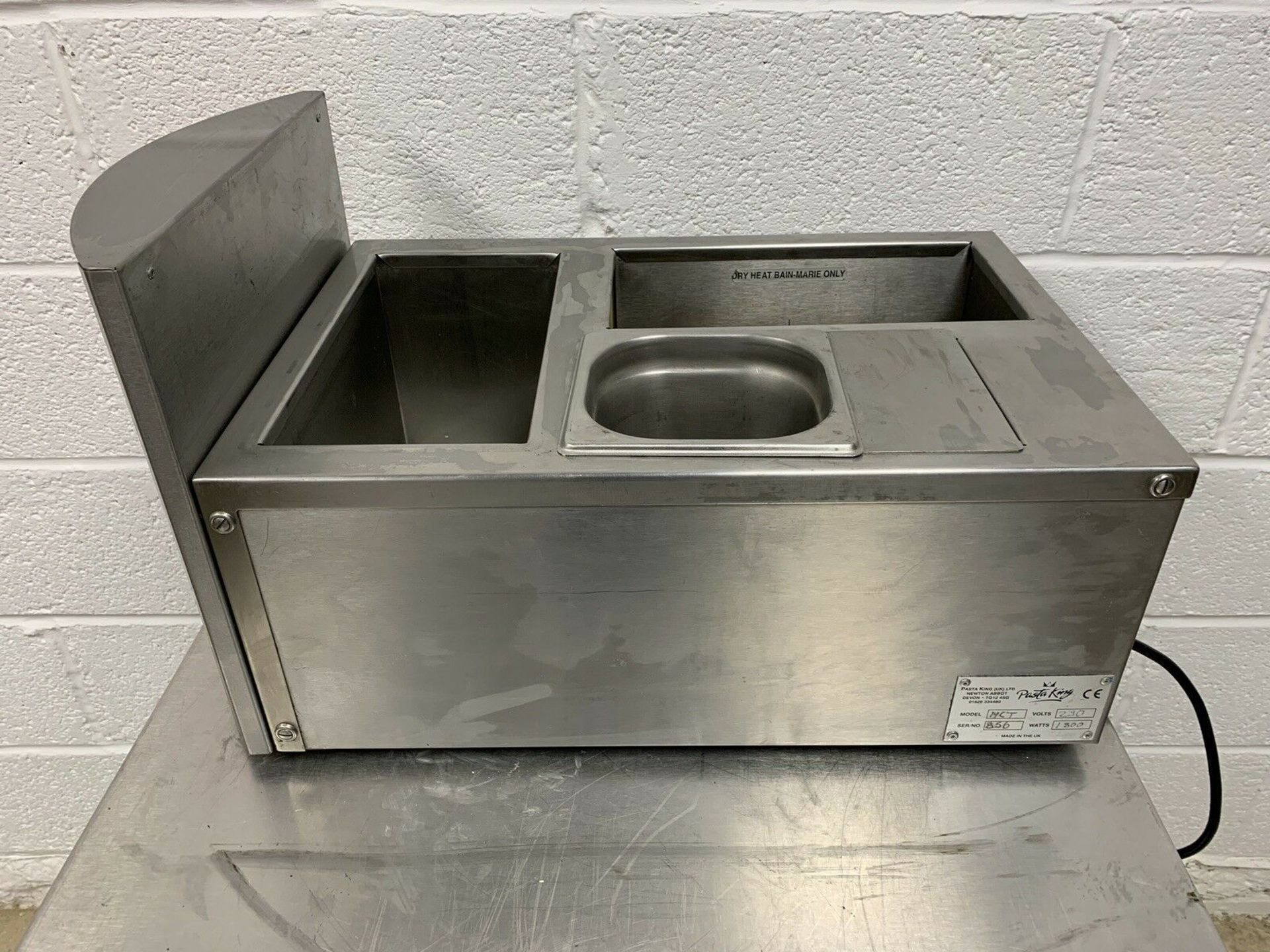 Lot 91 - Pasta King MCT Countertop Bain Marie Dry and Wet Heat