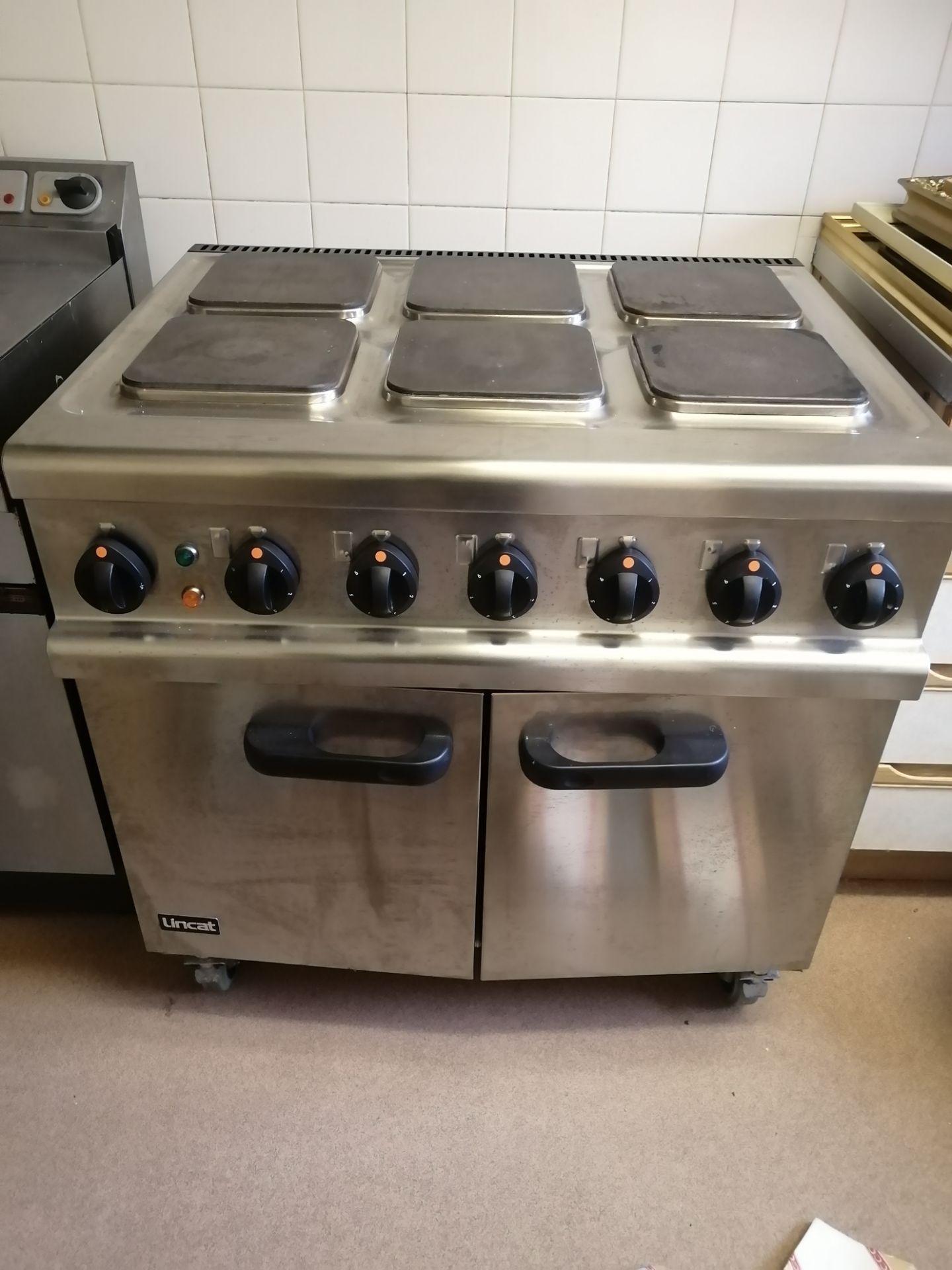 Lot 115 - Lincat Opus 700 Electric 6 Burner Oven