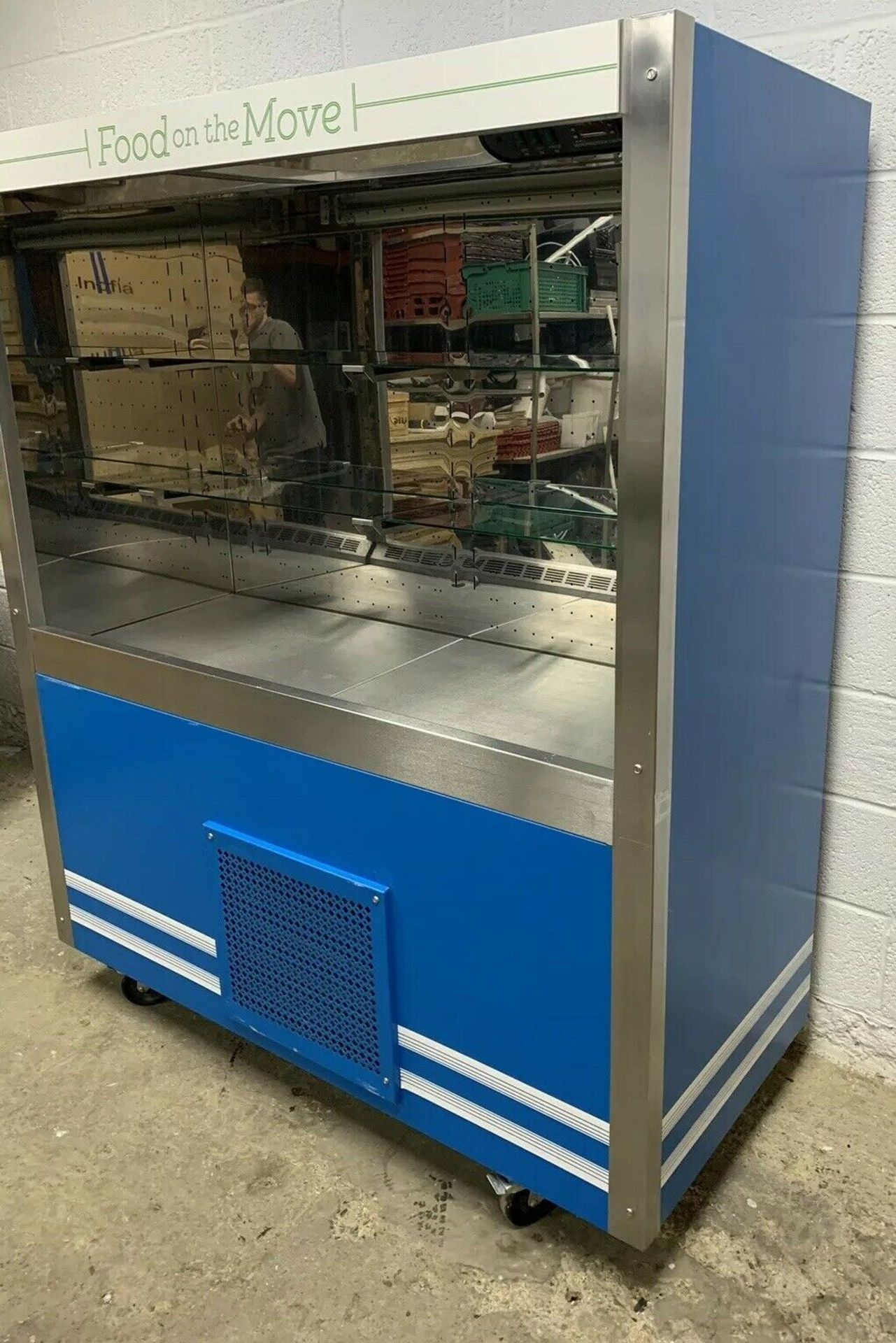 Lot 90 - Victor Multideck Display Fridge