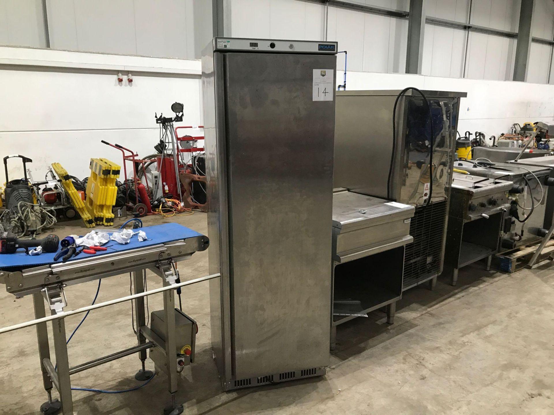 Lot 182 - Polar tall refrigerator