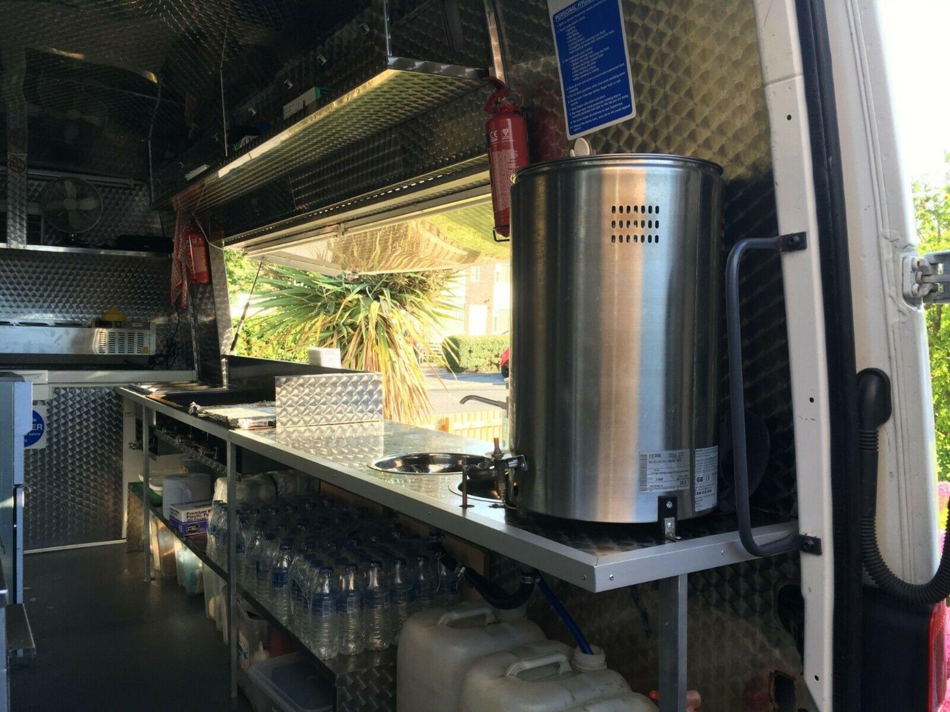 Lot 2 - Mobile Catering Van / Burger Van Business Venture