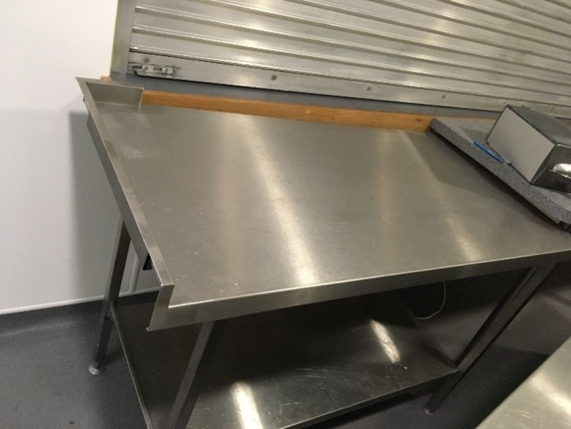 Lot 3 - Stainless Steel Prep Table