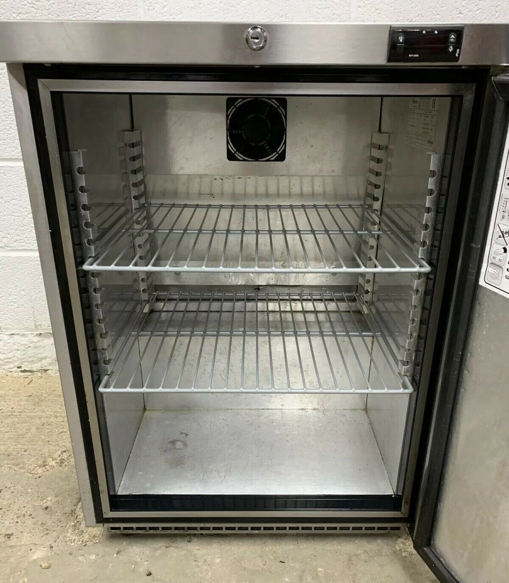 Lot 39 - Foster HR150 Single Door Under Counter Fridge