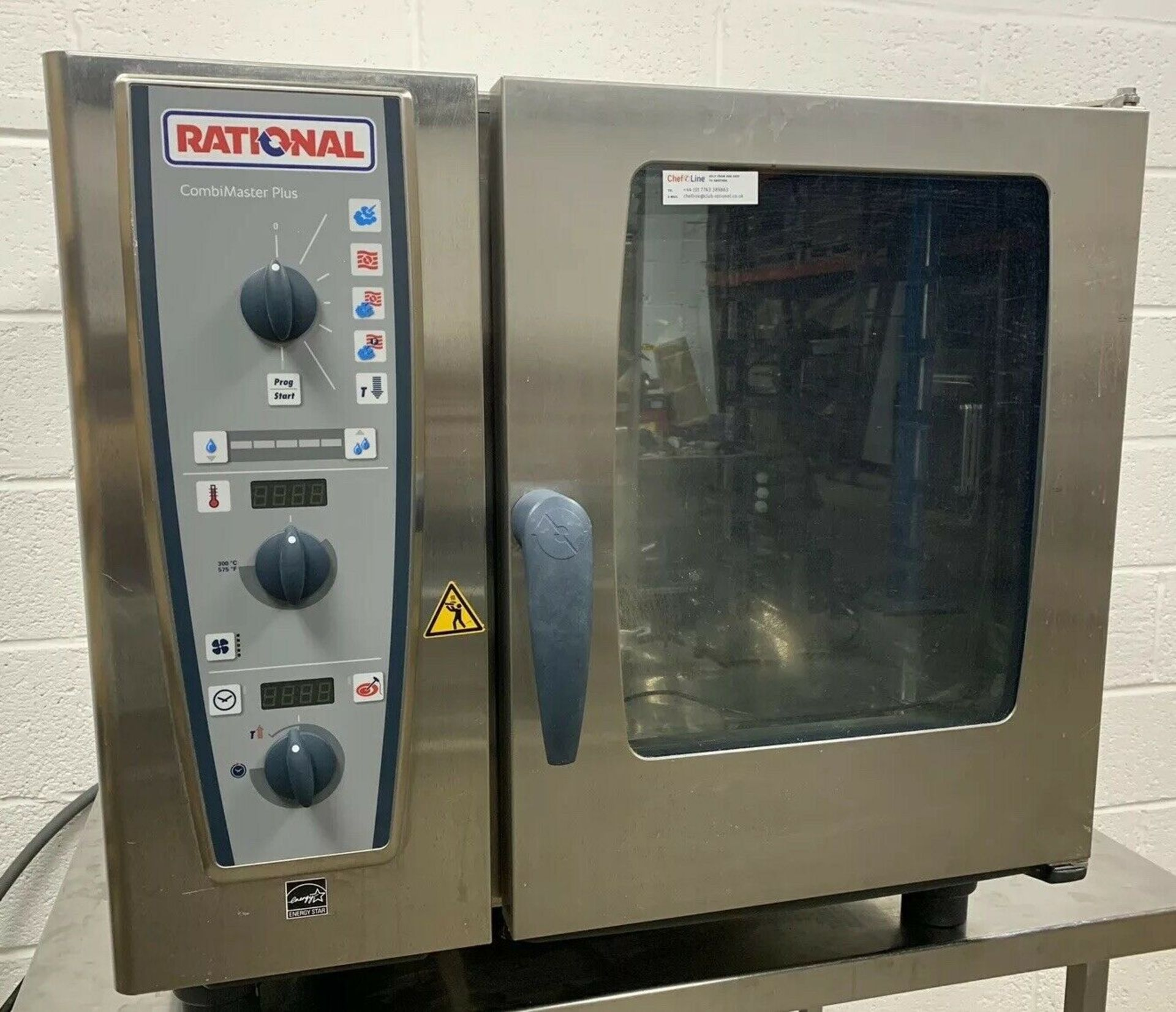 Lot 57 - Rational CMP61 6 Grid Combination Oven