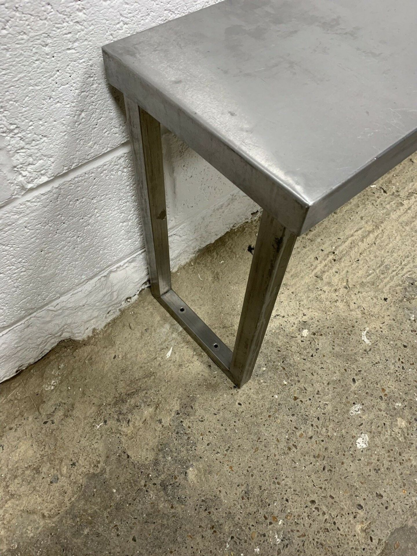 Lot 92 - Stainless Steel Gantry