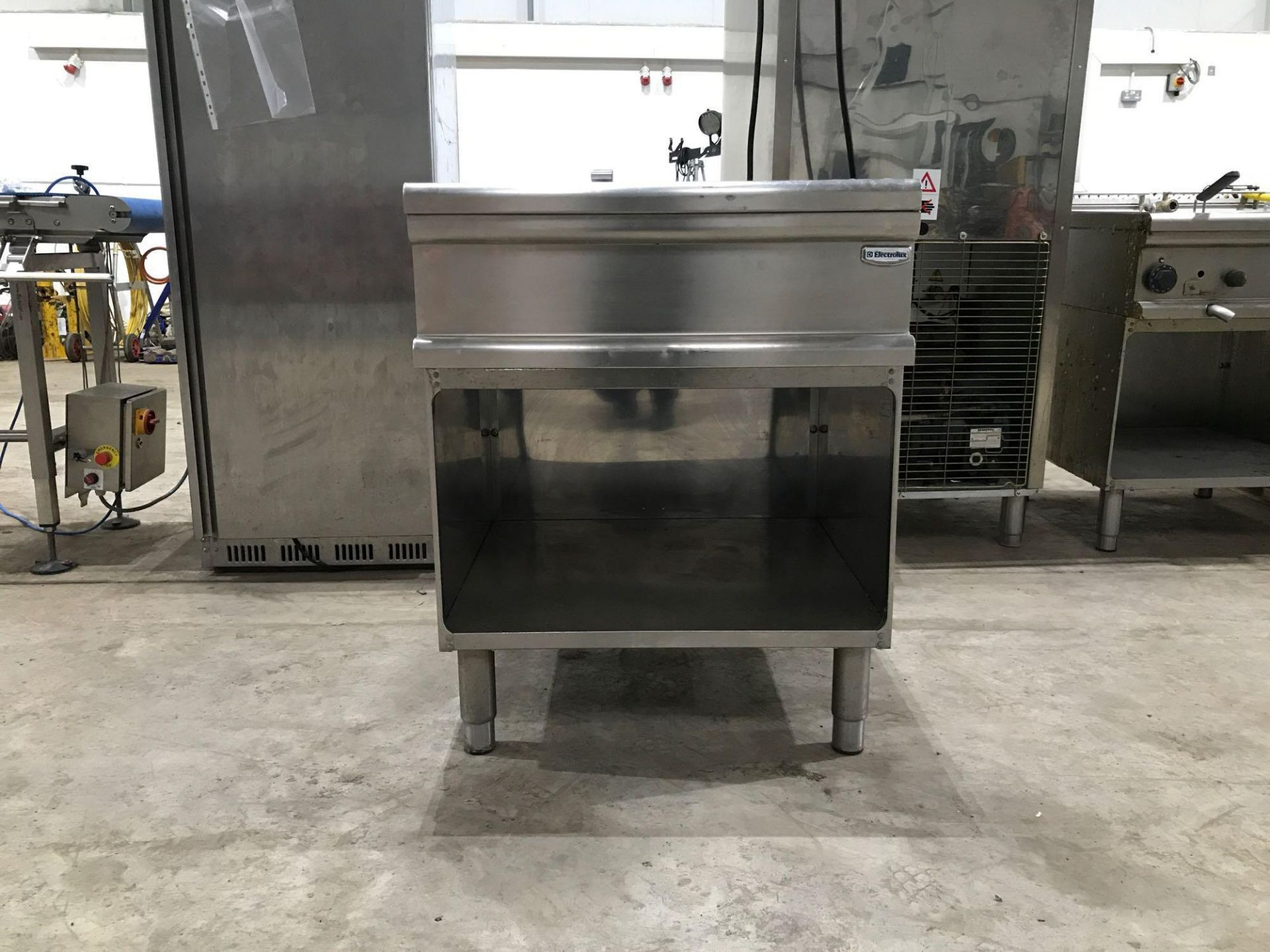 Lot 181 - Electrolux stainless steel counter