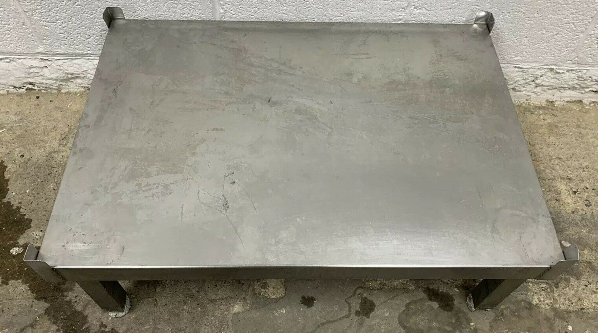 Lot 66 - Stainless Steel Oven Stand