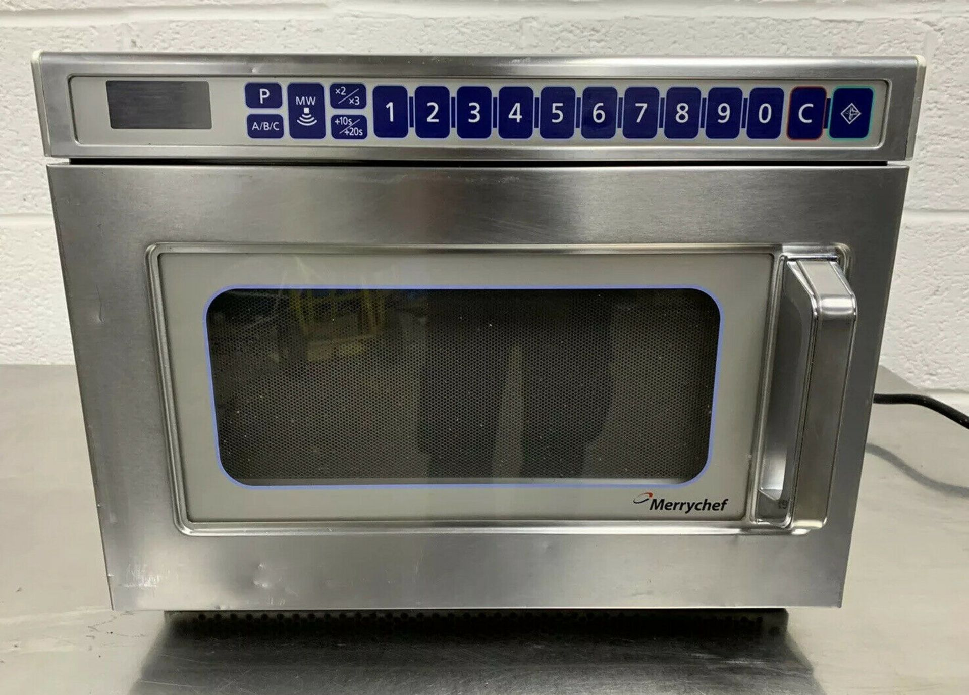 Lot 27 - Merrychef MD1800 Microwave Oven 2017