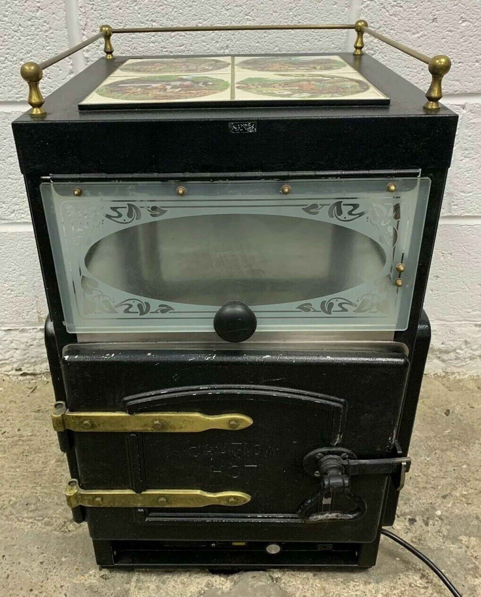 Lot 56 - Victorian Baking Ovens Queen Victoria Potato Oven