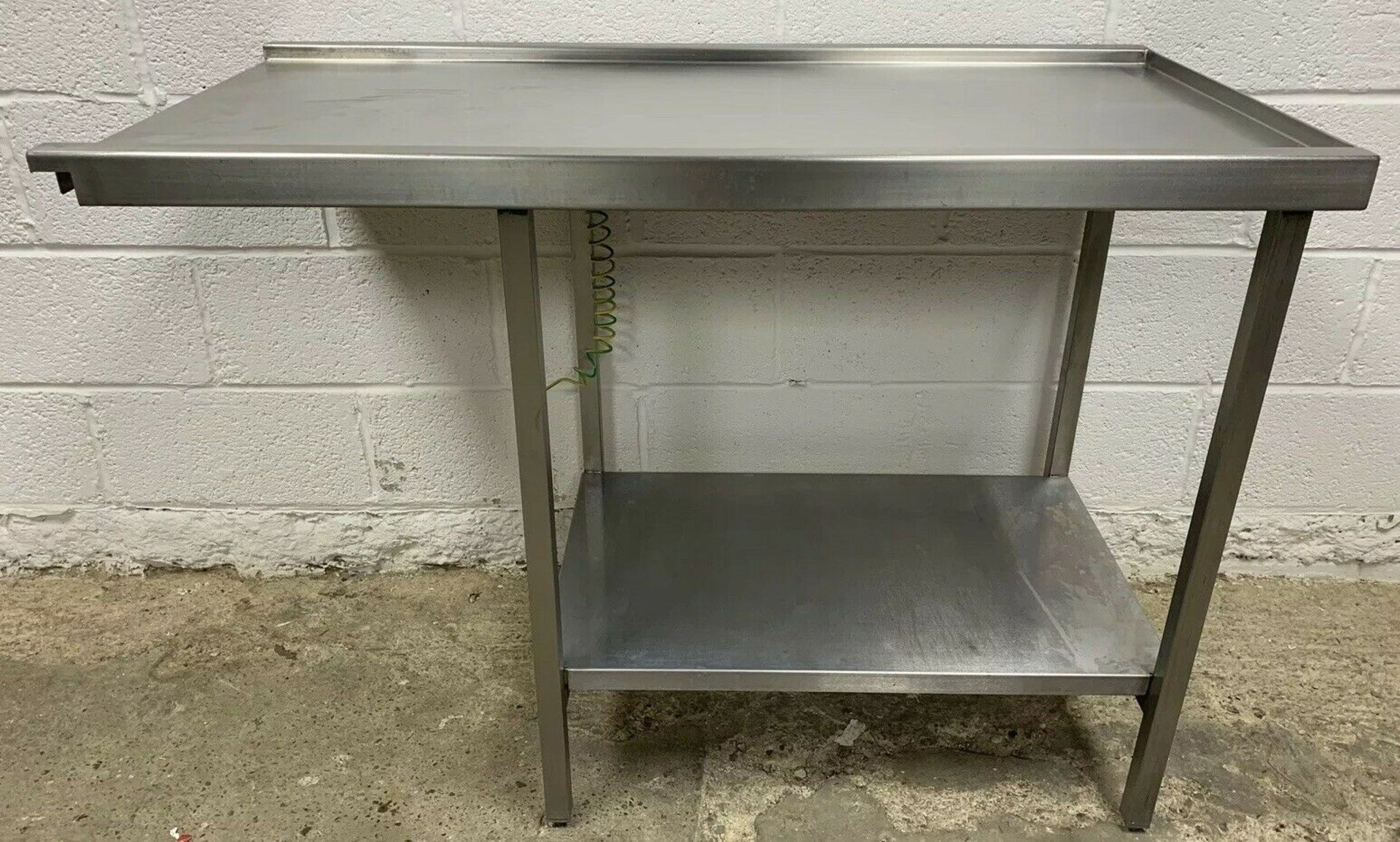 Lot 52 - Stainless Steel Dishwasher Outlet / Exit Table