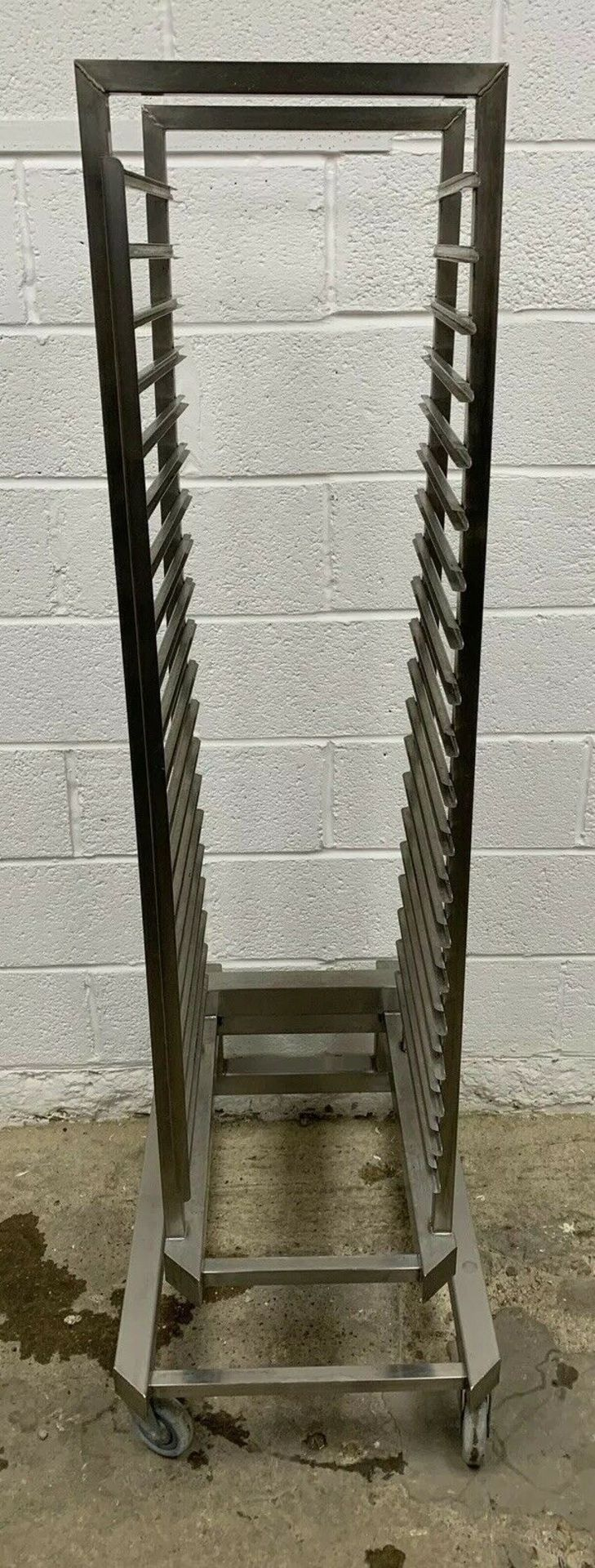 Lot 65 - Stainless Steel Roll In Trolley