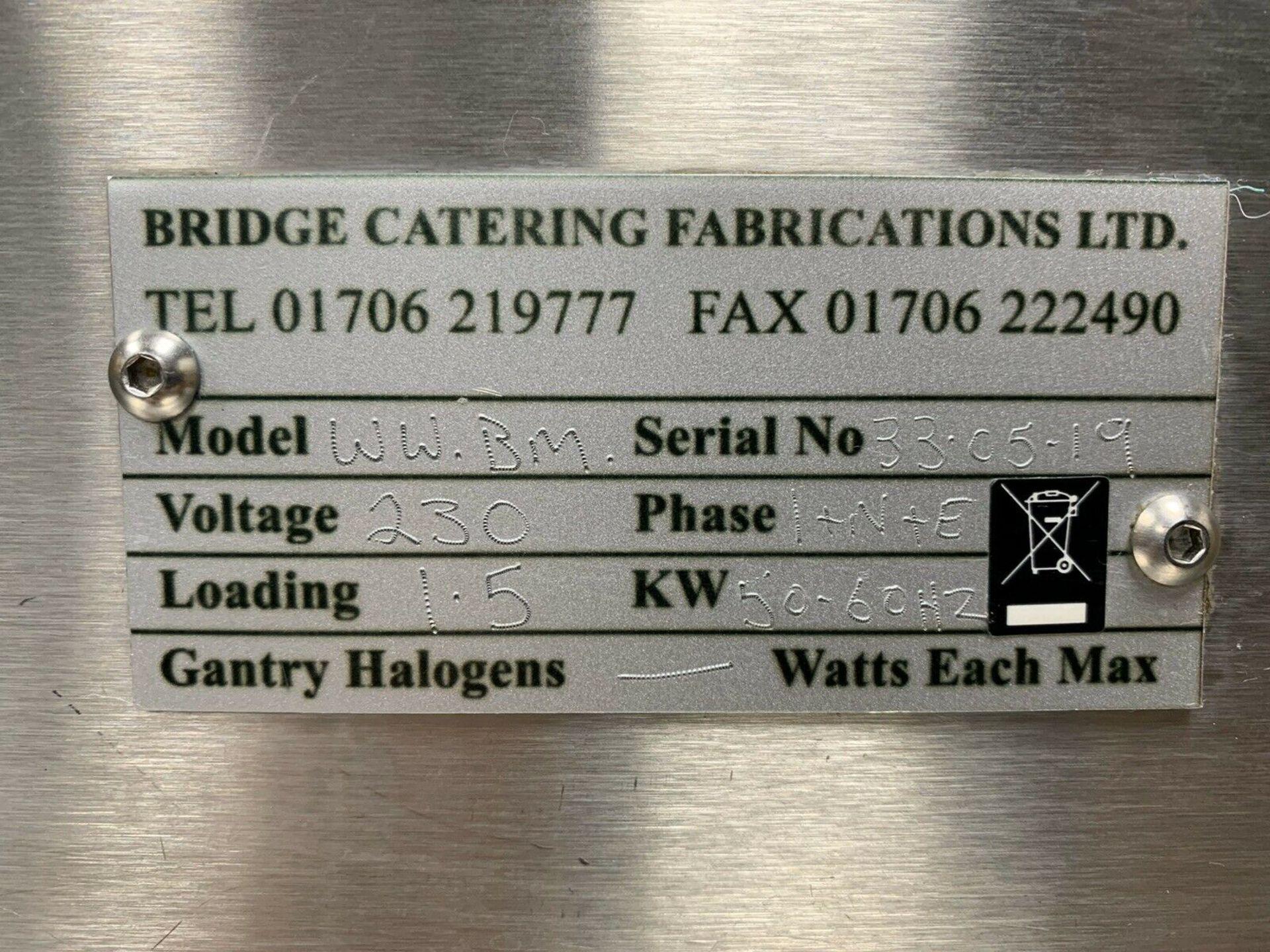Lot 33 - Bridge Catering Bespoke Wet Heat Bain Marie