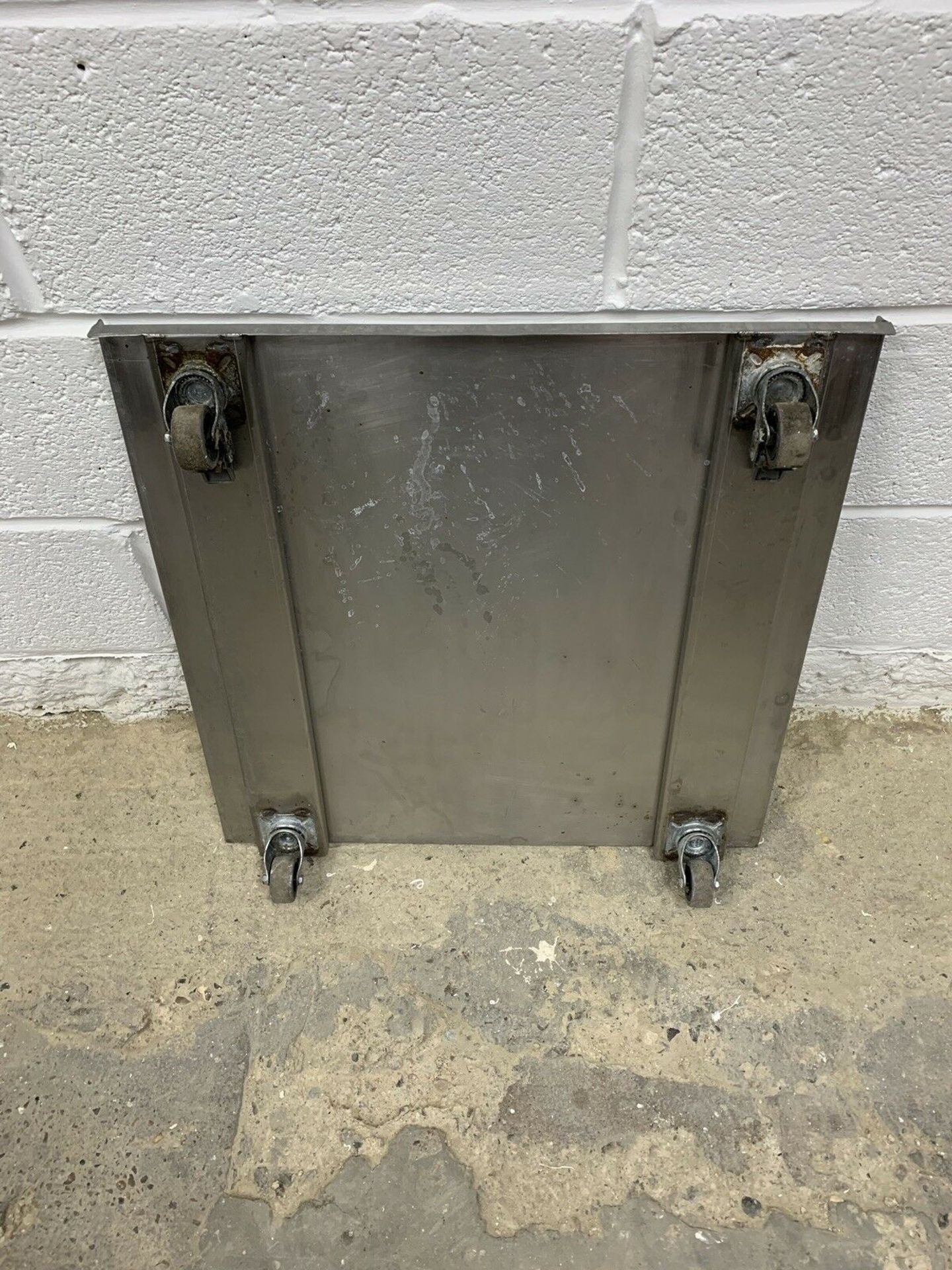 Lot 98 - Stainless Steel Dishwasher / Appliance Trolley