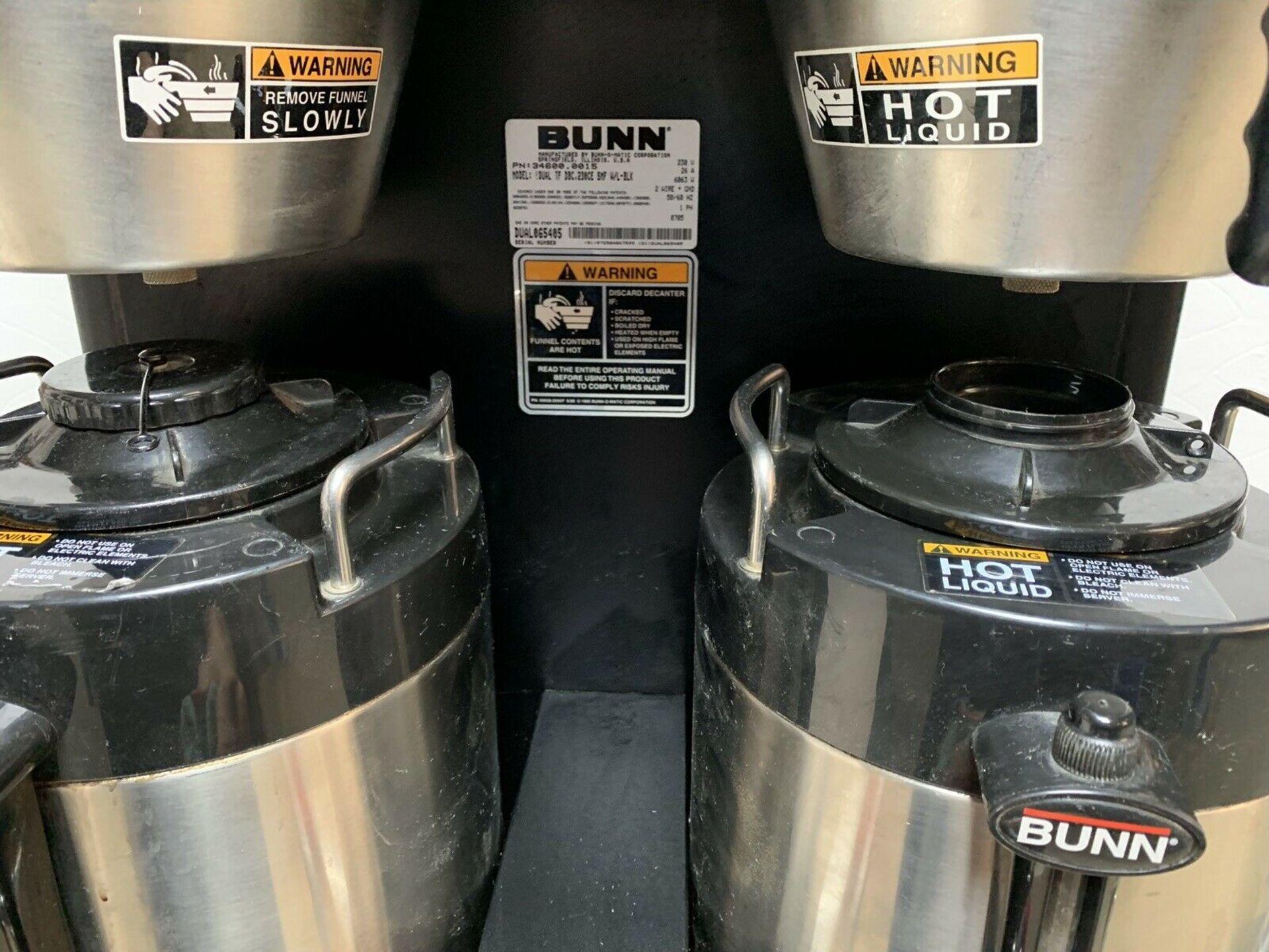 Lot 84 - Bunn Dual TF DBC230E Coffee Brewer Single Phase
