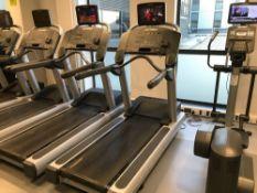 x1 Life fitness flex deck treadmill