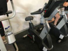 x1 Life fitness Upright exercise bike