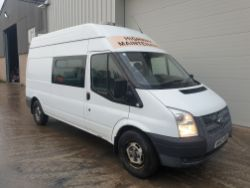 Direct from Major Utilities Company – Scania Welfare Servicing Tankers and Ford Transit Welfare Vans
