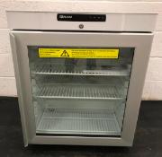 Undercounter Glass Door RefrigeratorKG 210 LG 3W