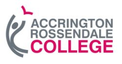 On Behalf of Accrington College Selection of Large Commercial Printers