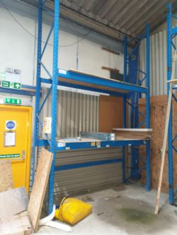 Sale of Heavy Duty Racking due to Travis Perkins Site Closure
