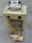 Protex portable heater 110 v