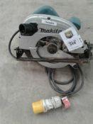 Makita circular saw 110 V