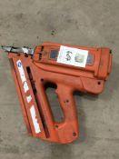 Pass load nail gun