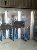 3 x SLA-25 genie material lifts