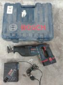 Bosch cordless reciprocating saw
