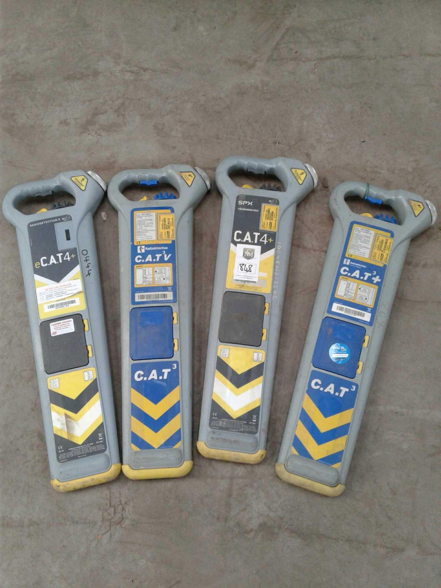 Lot 848 - 4 x cable locators