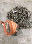 Tiger single point chain hoist