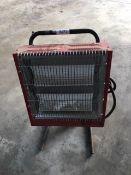 Ceramic heater 110 V 32 amp