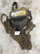 Lifting gear one ton single point chain Hoist